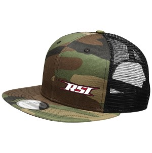RSI Snap Back - Flat Bill ( Camo )