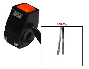 SKI-DOO G4 BILLET ENGINE KILL SWITCH WITH FACTORY TERMINALS