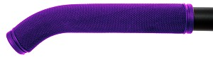 "Purple 7"" RUBBER GRIPS"